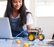 Coding with Mindstorms Robots