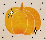 Illustration of a pumpkin
