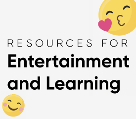 Entertainment and Learning header