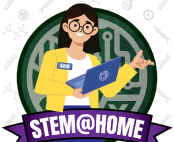 STEM@Home logo