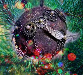 Steampunk Ornaments