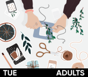 Adults Get Crafty