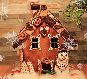 Holiday Graham Cracker Cottages